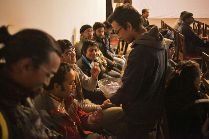Lucky draw coupons.Photo: Shikhar Bhattarai